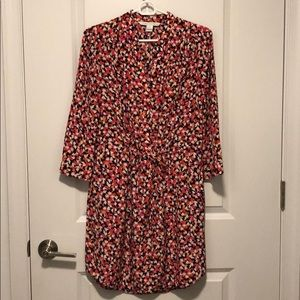 DVF Freya Silk Shirt Dress